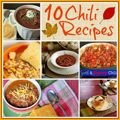 10 Chili Recipes all in one place thanks to Worthing Court!