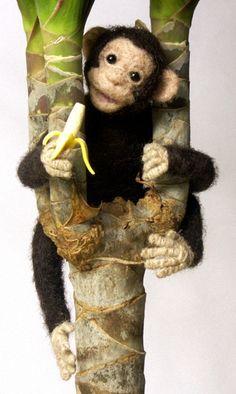 Kleiner Schimpanse auf großer Reise
