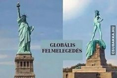 enjoy all the funny meme and lol from mour Funny Pictures Global Warming section Funny Images, Funny Photos, Funniest Photos, Effects Of Global Warming, Memes, Pictures Online, Weekender, Climate Change, Statue Of Liberty