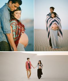 Stylish maternity photo