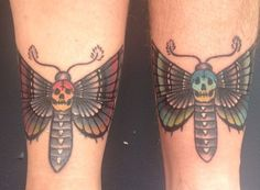 brother sister tattoo butterfly