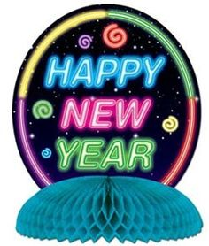 8caff13437 Happy New Year Centerpiece by Beistle.  3.29. Add color to your New Year s  Eve