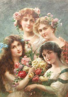 Emile Vernon (1872-1919, French)