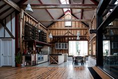 Сарай 18 века в Англии переделан в жилое помещение