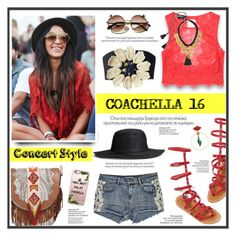 """""""Coachella 2016"""" by anne-irene ❤ liked on Polyvore featuring Etro, H&M, Bebe and Casetify"""