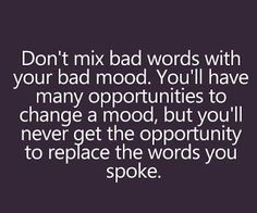 Don't mix bad words...via www.9quote.com