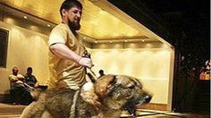"""Ramzan Kadyrov, leader of the southern Russian republic and Putin loyalist, shows aggression to traitors against his leader. He describes himself as President Putin's """"soldier""""."""