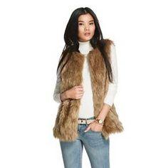 Women's Faux Fur Vest - Merona™