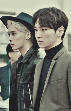 SHINee's Jonghyun and Key