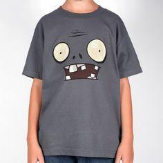 Plants vs. Zombies Store - Minimalist Zombie Boys T-Shirt - Apparel