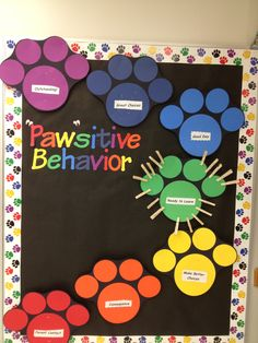 This is adorable! Great Idea! No link, but this is a great bulletin board. Pin names of students who have shown each positive behavoir.