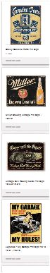 Vintage Tin Signs - For Sale on Pinterest