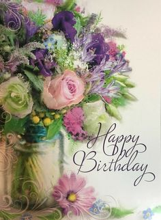 Free Happy Birthday Cards Printables May your birthday be filled with wonderful surprises! The post Free Happy Birthday Cards Printables appeared first on Ideas Flowers. Happy Birthday Bouquet, Free Happy Birthday Cards, Birthday Wishes And Images, Happy Birthday Pictures, Happy Birthday Sister, Happy Birthday Messages, Happy Birthday Greetings, Happy Birthday Wishes Flowers, Birthday Freebies