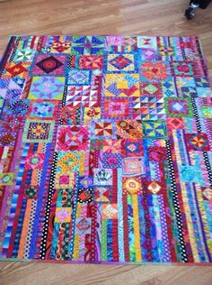 Gypsy Wife Quilt found on Kaffe Fassett Facebook page.