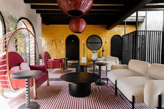 Mexico's Casa Hoyos Hotel Is Full of Clever Tile Ideas