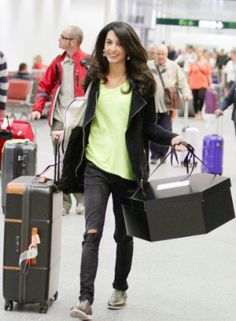 Amal arriving in Italy prior to her wedding to George Clooney - September 2014.png