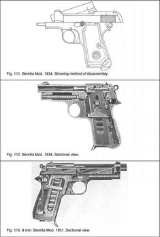 78118741316 This large group of pistols was and is manufactured by Fabrica d Armi  Pietro Beretta