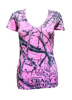 Picture of WOMEN'S CAMO SHORT SLEEVE TOP