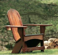 How to make a: Westport Chair Project - great free project from Woodworkers Journal