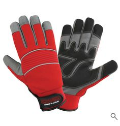 Mechanic Gloves, Leather Industry, Palm, Closure, Spandex, Website, Top, Fashion, Moda