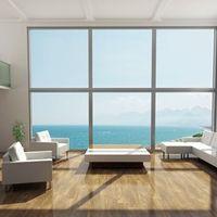 Aluminium window frames by Duro