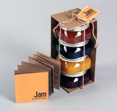 25 Sweet Jam Jar Labels & Packaging Design Ideas