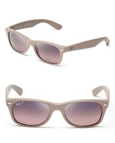 646bdbf2af Ray-Ban Unisex Matte Polarized New Wayfarer Sunglasses Jewelry   Accessories  - Bloomingdale s