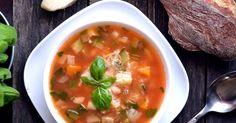Mennyei Minestrone leves recept! Az egyik legjobb nyári leves az olasz minestrone leves recept, ami akár hidegen, akár melegen is egyaránt remek ebéd vagy vacsora lehet. Próbáld ki te is ezt a remek receptet, az egyik kedvenced lesz remélem! ;)