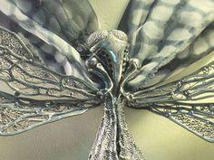 Процесс создания броши «Стрекоза». Часть вторая | Ярмарка Мастеров - ручная работа, handmade
