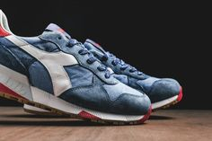 DIADORA HERITAGE TRIDENT 90 (BLUE SHADOW) - Sneaker Freaker