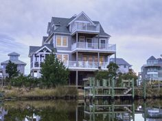 Outer Banks Vacation Rentals | Frisco Vacation Rentals | Spy Dog #837 |  (4 Bedroom Canalfront House)