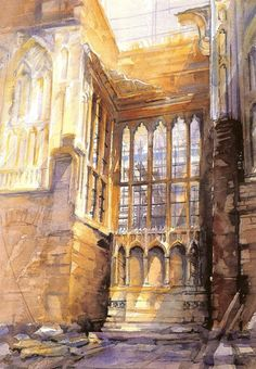 British Watercolorist - Alexander Creswell  Alexander Creswell (born 1957 in Helsinki, Finland ) is an internationally celebrated artist known for his extraordinary fluency and technical skill in watercolour and his remarkable ability to capture 'the...