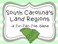 Regions of South Carolina, 3rd grade | Khristian's projects ...