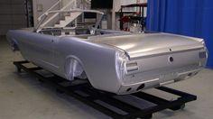 Auto body shells vintage
