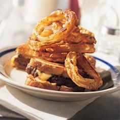 BEER-BATTERED ONION RINGS-IMPRESS YOUR FAMILY WITH HOMEMADE ONION RINGS THAT TASTE JUST AS GOOD AS THE ONES FROM THE LOCAL DINER.