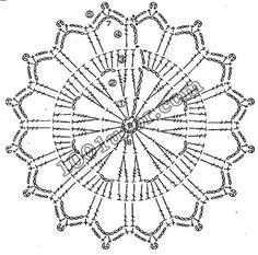 Crochet Snowflake Pattern, Crochet Mandala Pattern, Crochet Stars, Crochet Circles, Crochet Motifs, Crochet Snowflakes, Crochet Diagram, Crochet Doilies, Crochet Flowers