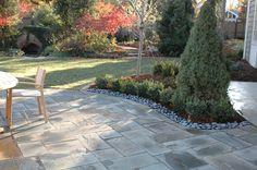 Bluestone patio #TopekaLandscape