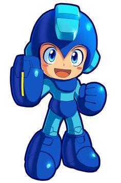 Megaman Powered Up by ultimatemaverickx