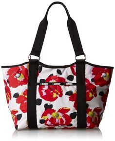 LeSportsac ♦ Carryall Tote Handbag ♦ Available in a variety of colors choices and patterns.