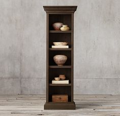 This would look great in a hallway - vintage shelving
