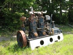 Image 1 : Kahlenberg 2 cyl tug boat engine