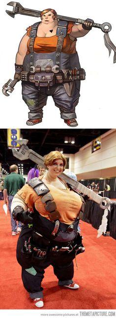 Elie de Borderlands, superbe cosplay !