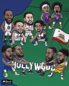 Which California Team do you represent? Drop your comments below? Funny Nba Memes, Funny Basketball Memes, Sport Basketball, Basketball Posters, Nba Sports, Nike Air Force, Air Force 1, Nba Wallpapers Iphone, Nba Legends