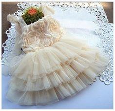 Ruffle Rosette Dress- available at www.jaybela.com