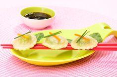 Mon premier repas chinois en famille : raviolis asiatique