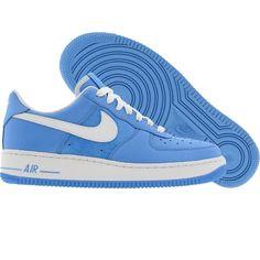 5b2c40ca6a6c0 Nike Womens Air Force 1 07 Low (university blue   white) 315115-414 -  74.99