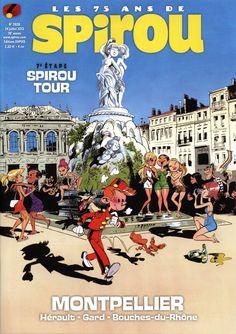 Journal de Spirou #3928 cover (ill. Tarrin; (c) Dupuis)