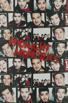 Midnight memories.♡