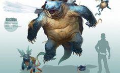 Esta é uma série de Pokémons realistas pintados por arvalis (apelido no site DeviantART). Ele diz em sua biografia que gosta muito de dinossauros, por isso estes pokémons lembram (a maioria) os dinossauros.