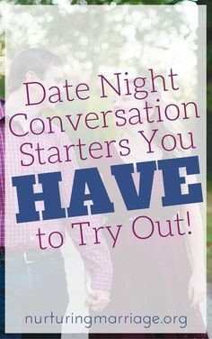 Date nights with your husband or wife don't have to LACK in meaningful and fun conversation. Try these conversation starters for fun and lively communication together. Would you rather live one life that lasts 1,000 years or live ten lives that last 100 years each? Would you rather never laugh again or never use your smartphone again? Would you rather live in the same home for 25+ years or move around 15 times? Would you rather lose $1000 or lose all of your phone contacts? #marriage…